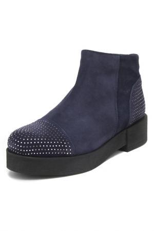 Ботинки Nila&Nila. Цвет: velour blu