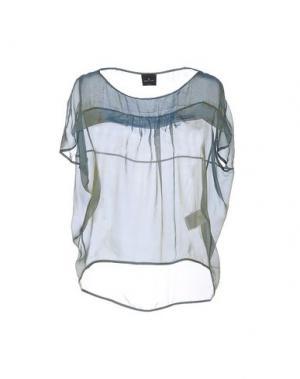 Блузка GOTHA. Цвет: зеленый-милитари