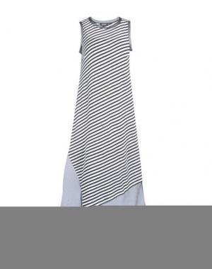 Длинное платье LES COPAINS. Цвет: черный
