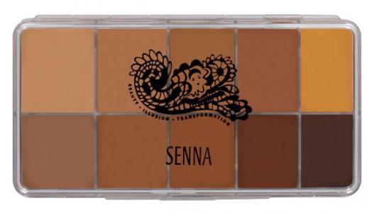 Для лица Senna Cosmetics 02 Medium-Dark. Цвет: 02 medium-dark