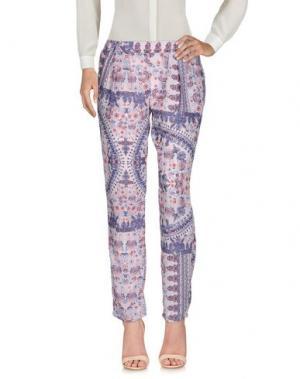 Повседневные брюки CUTIE. Цвет: сиреневый