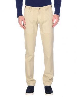 Повседневные брюки MESSAGERIE. Цвет: бежевый