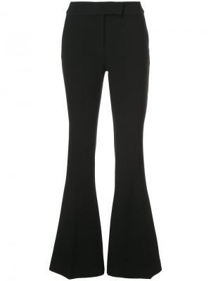 Расклешенные брюки Rachel Zoe. Цвет: чёрный