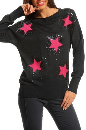 Пуловер JUS DE POMMES. Цвет: черный