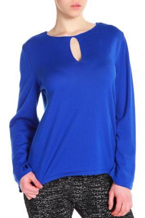 Пуловер UNQ. Цвет: синий