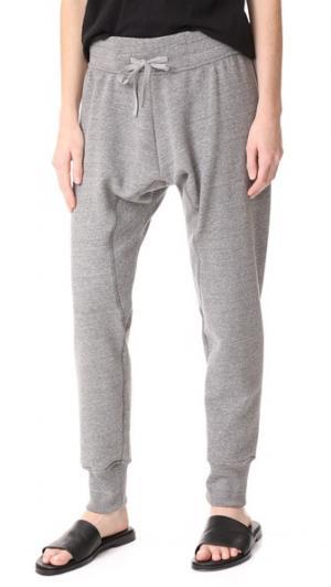 Узкие спортивные брюки Oak. Цвет: серый меланж