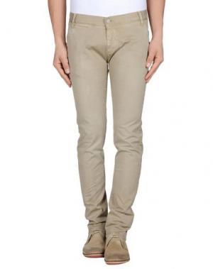 Повседневные брюки 2W2M. Цвет: голубиный серый