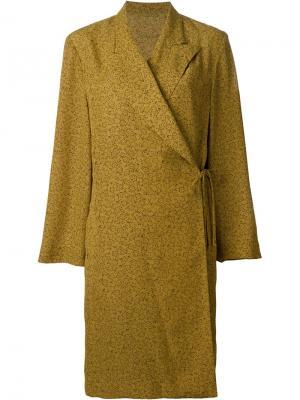 Платье с запахом Jean Paul Gaultier Vintage. Цвет: жёлтый и оранжевый