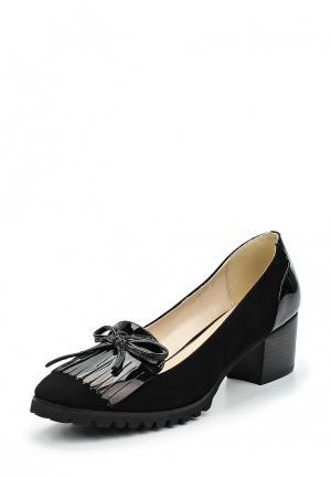 Туфли La Grandezza. Цвет: черный
