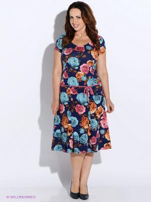 Платье BALSAKO. Цвет: синий