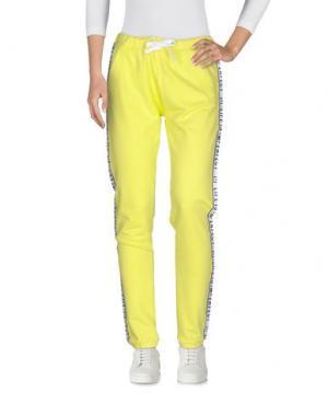 Повседневные брюки !M?ERFECT. Цвет: кислотно-зеленый