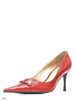 Туфли Gianmarco Benatti. Цвет: красный