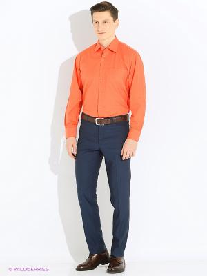 Рубашка Vinzo Vista. Цвет: коралловый