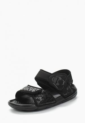 Сандалии adidas. Цвет: черный