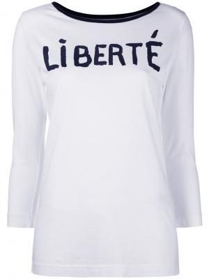 Кофта Liberté The Seafarer. Цвет: белый