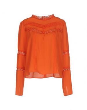 Блузка GIORGIA & JOHNS. Цвет: оранжевый