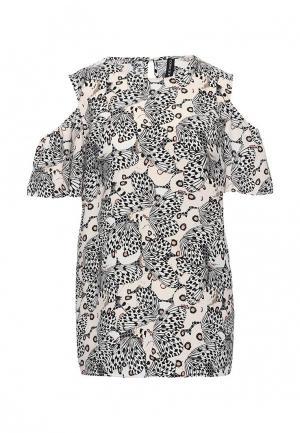 Блуза Concept Club. Цвет: бежевый