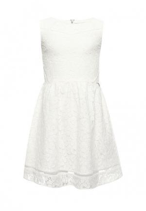 Платье Guess. Цвет: белый