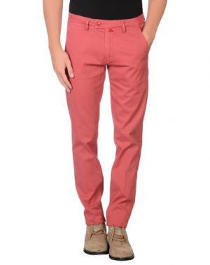 Повседневные брюки BARONIO. Цвет: кирпично-красный