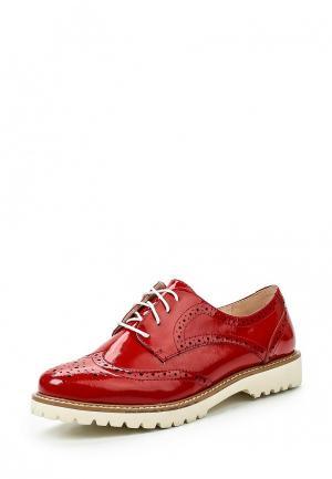 Ботинки Tervolina. Цвет: красный