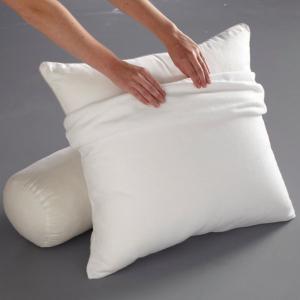 Чехол защитный для подушки, из стретч-мольтона REVERIE BEST. Цвет: белый