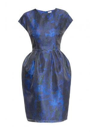 Платье 160657 Infinee. Цвет: синий