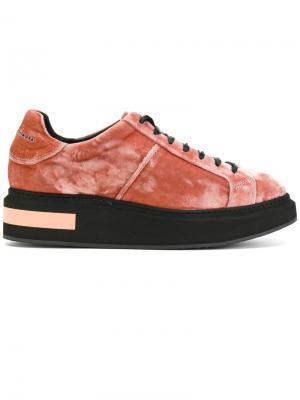 Mitte low bic sneakers Manuel Barceló. Цвет: розовый и фиолетовый