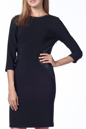 Платье Duse. Цвет: черный