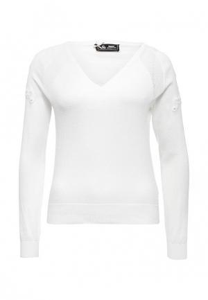 Пуловер Sinequanone. Цвет: белый