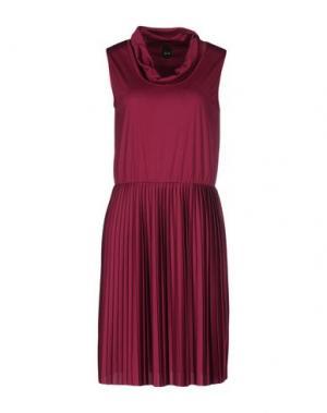 Платье до колена NOLITA. Цвет: пурпурный