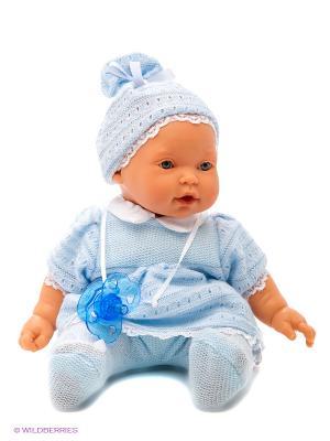 Кукла Лана  плачущая Antonio Juan. Цвет: голубой