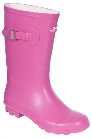 Резиновые сапоги Trespass. Цвет: розовый