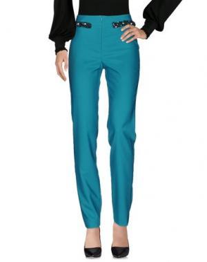 Повседневные брюки ALESSANDRO LEGORA. Цвет: зеленый