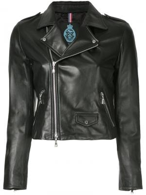 Байкерская куртка Guild Prime. Цвет: чёрный