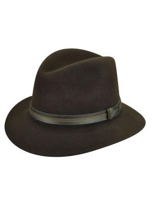 Шляпа Bailey. Цвет: темно-коричневый