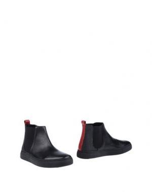 Полусапоги и высокие ботинки STOKTON. Цвет: черный