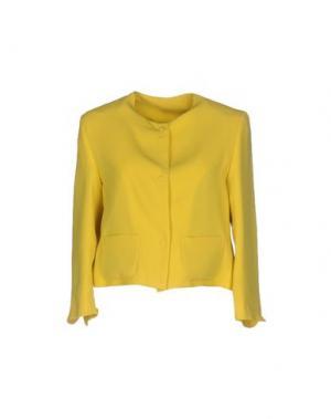 Пиджак GUTTHA. Цвет: желтый