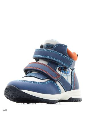 Ботинки Сказка. Цвет: голубой