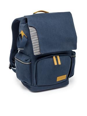 Рюкзак National Geographic. Цвет: синий, горчичный, светло-серый