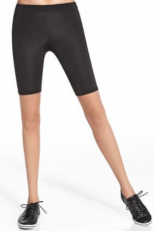 Спортивные шорты BAS BLEU. Цвет: черный