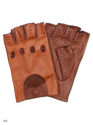 Перчатки MERCEDES-BENZ. Цвет: коричневый