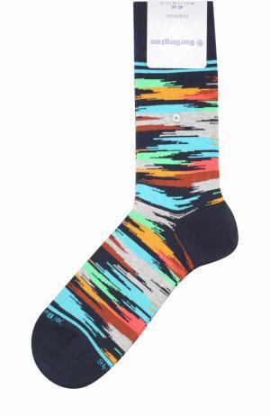 Хлопковые носки Fashion Burlington. Цвет: темно-синий
