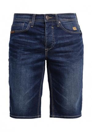 Шорты джинсовые Blend. Цвет: синий