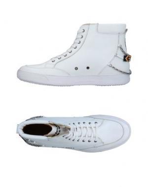 Высокие кеды и кроссовки LES ÉCLAIRES. Цвет: белый
