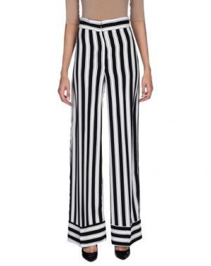 Повседневные брюки MEM.JS. Цвет: черный