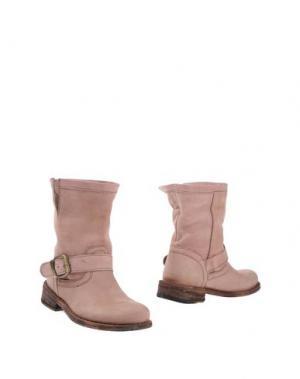 Полусапоги и высокие ботинки FELMINI. Цвет: пастельно-розовый