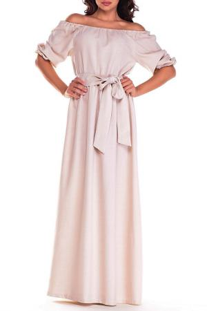 Платье Dioni. Цвет: светло-бежевый