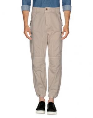 Повседневные брюки CLOSED. Цвет: бежевый