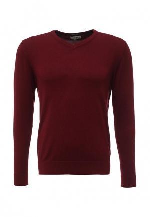 Пуловер Alcott. Цвет: бордовый