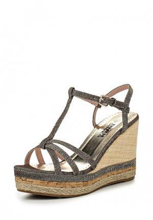 Босоножки Max Shoes. Цвет: золотой